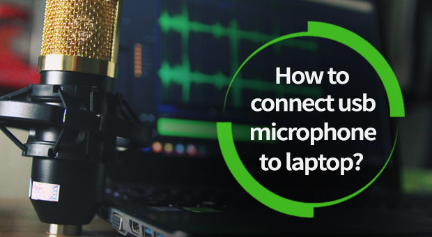 How to Connect USB Microphone to Laptop