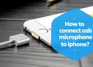How to Connect USB Microphone to iPhone