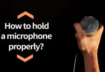 How to Hold a Microphone Properly