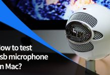 How to Test USB Microphone on MAC