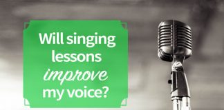 Will singing lessons improve my voice