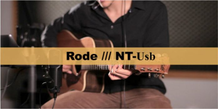 Rode NT-Usb USB Condenser Microphone cover