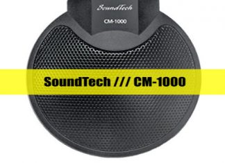 SoundTech CM-1000 Conference Microphone cover
