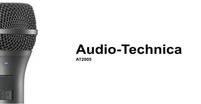 Audio-Technica AT2005 USB XLR Microphone cover