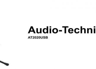 Audio-Technica AT2020USB Plus USB Microphone cover
