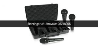 Behringer Ultravoice XM1800S cover