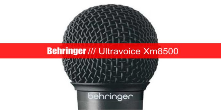 Behringer Ultravoice Xm8500 Dynamic Vocal Microphone cover
