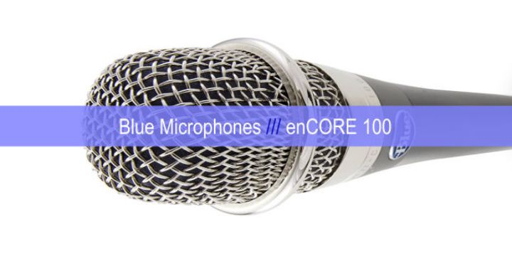 Blue Microphones enCORE 100 cover