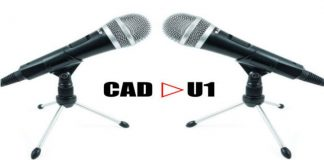 CAD U1 USB Dynamic Recording Microphone cover
