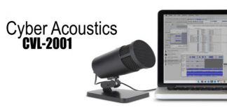 Cyber Acoustics CVL-2001 USB Microphone cover