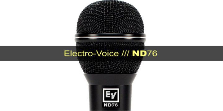 Electro-Voice ND76 cover