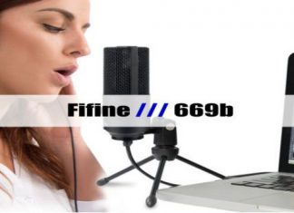 Fifine 669b Metal USB Microphone cover