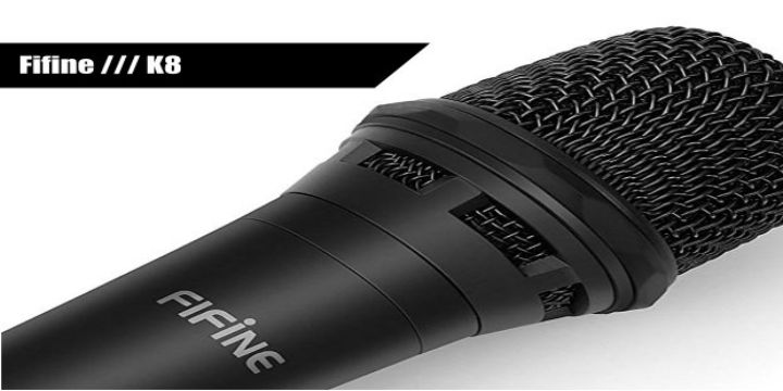 Fifine K8 Dynamic Vocal Microphone cover