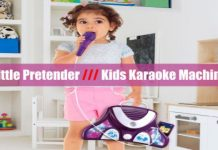 Little Pretender Kids Karaoke Machine cover
