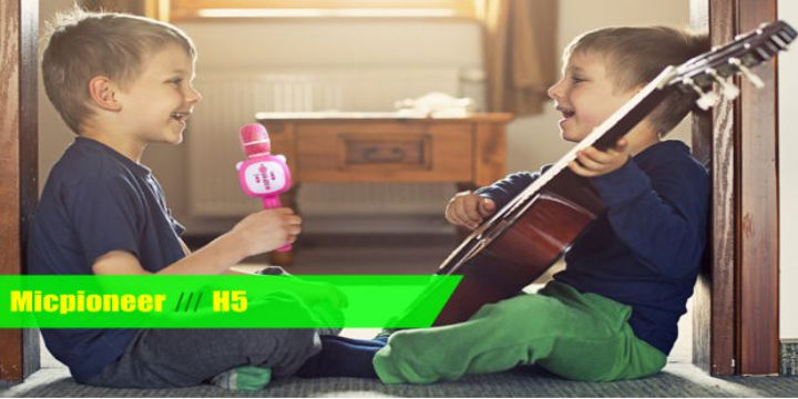 Micpioneer H5 Wireless 3 in 1 Kids Microphone cover