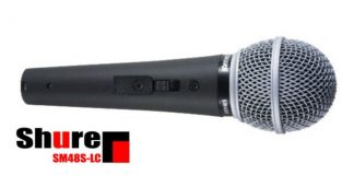 Shure SM48S-LC Vocal Microphone cover