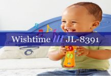 Wishtime JL-8391 Kids Music Microphone cover