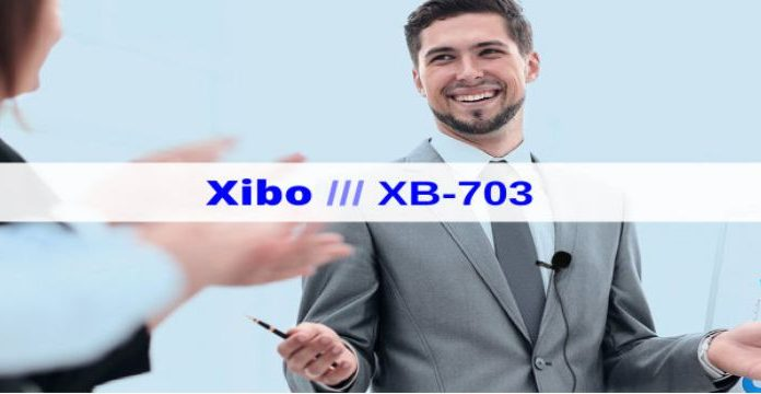 Xibo XB-703 Lavalier Lapel Microphone cover