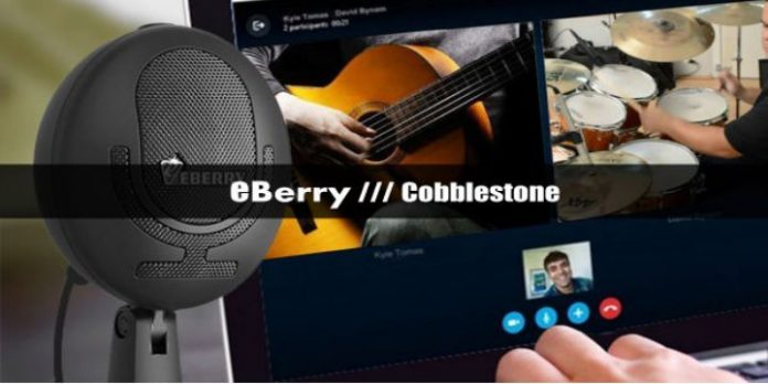 eBerry Cobblestone USB Microphone cover